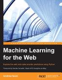 Machine Learning for the Web Pdf/ePub eBook