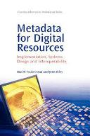 Metadata for Digital Resources Book