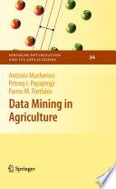 Data Mining in Agriculture