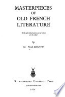 Masterpieces of Old French Literature