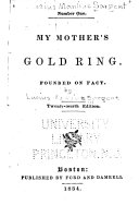 Temperance Tales  no  1  My mother s gold ring