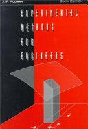 Experimental Methods for Engineers Book