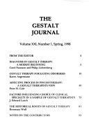 The Gestalt Journal