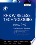 RF   Wireless Technologies Book