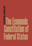 Economic Constitution Of Federal States