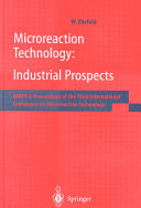 Microreaction Technology: Industrial Prospects