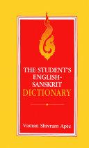 The Student's English-Sanskrit Dictionary [Pdf/ePub] eBook