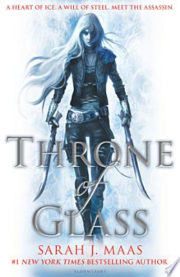 Book cover of 'Throne of Glass' by Sarah J. Maas