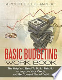 Basic Budgeting Work Book