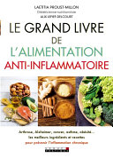 Le grand livre de l'alimentation anti-inflammatoire Pdf/ePub eBook