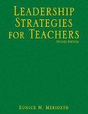 Leadership Strategies for Teachers
