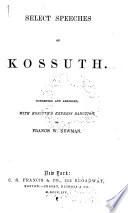 Select Speeches of Kossuth Book