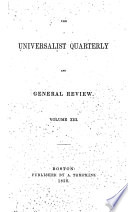 Universalist Quarterly and General Review