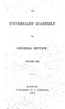 Pdf Universalist Quarterly and General Review
