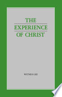 The Experience Of Christ