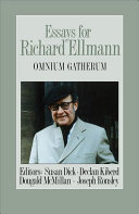 Pdf Essays for Richard Ellmann