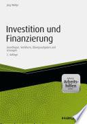 Investition und Finanzierung - inkl. Arbeitshilfen online
