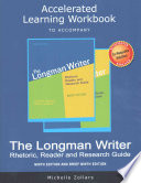Accelerated Learning Workbook for the Longman Writer and the Longman Writer, Brief Edition