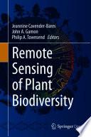 Remote Sensing of Plant Biodiversity Book