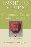 Insider s Guide to Community College Administration