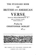The Standard Book of British and American Verse