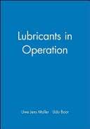 Lubricants in Operation