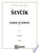 School of Bowing  Opus 2  Volume I