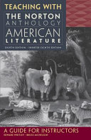 Teaching with the Norton Anthology of American Literature