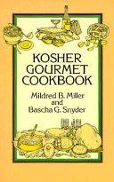 Kosher Gourmet Cookbook