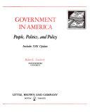 Government in America Book