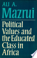 Political Values and the Educated Class in Africa Pdf/ePub eBook