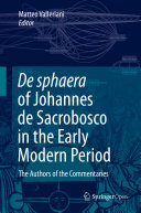 Pdf De Sphaera of Johannes de Sacrobosco in the Early Modern Period Telecharger