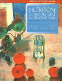 Nutrition Concepts and Controversies Book