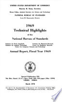 Annual Report of the National Bureau of Standards
