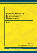 Vibration, Structural Engineering and Measurement II Pdf/ePub eBook