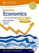 Essential Economics for Cambridge Igcserg + Cd-rom