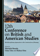 12th Conference on British and American Studies
