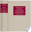 A Treatise On The Military Law Of The United States