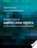 Applied Linear Algebra [Pdf/ePub] eBook