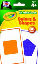 Crayola Flash Cards Colors   Shapes Book