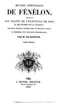 Opuscules ... traduits, augmentés et enrichis de notes par le P. R. des Tourrettes