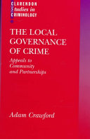 The Local Governance of Crime