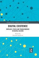 Pdf Digital Existence Telecharger