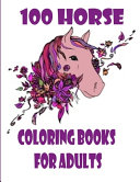 100 Horse Coloring Books For Adults Book PDF