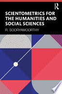 Scientometrics for the Humanities and Social Sciences