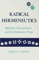 Pdf Radical Hermeneutics