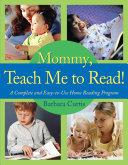 Mommy, Teach Me to Read Pdf/ePub eBook