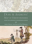 Dury and Andrews' Map of Hertfordshire
