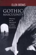 Gothic Masculinity Pdf/ePub eBook