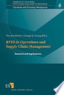 RFID in Operations and Supply Chain Management  : Research and Applications